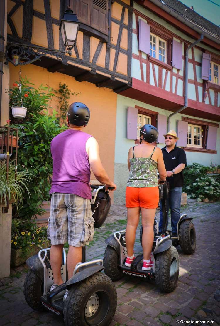 Segway dans Eguisheim