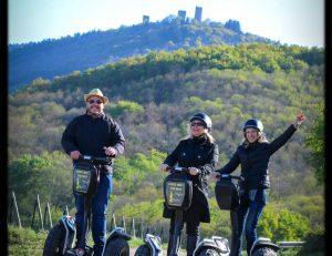 Chateaux et Segway en Alsace
