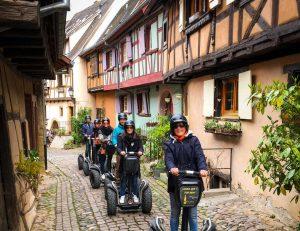 Eguisheim en gyropode